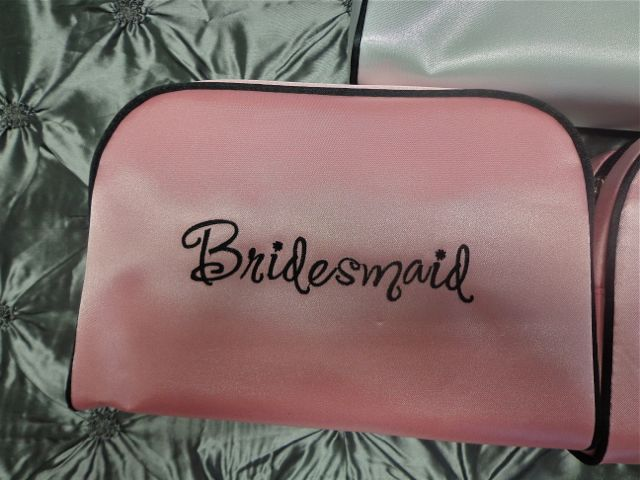 Bridesmaid Travel Bag-cosmetic bag, bridesmaid gift, bridesmaid, travel bag