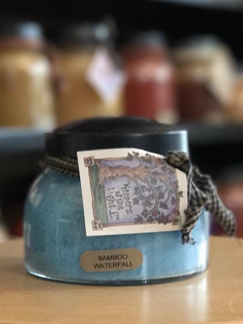 A Cheerful Giver Bamboo Waterfall Mama Jar Candle-a cheerful giver, bamboo waterfall, mama jar, candle