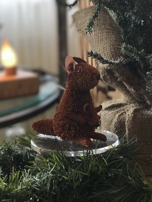 Kangaroo Brush Animal Ornament-kangaroo, brush animal