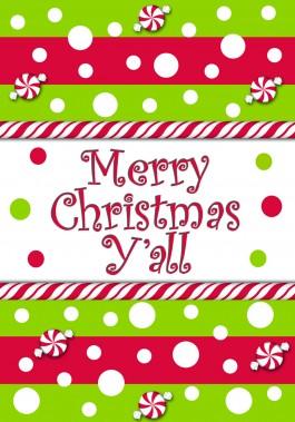 Merry Christmas Yall.Mini Flag Merry Christmas Y All