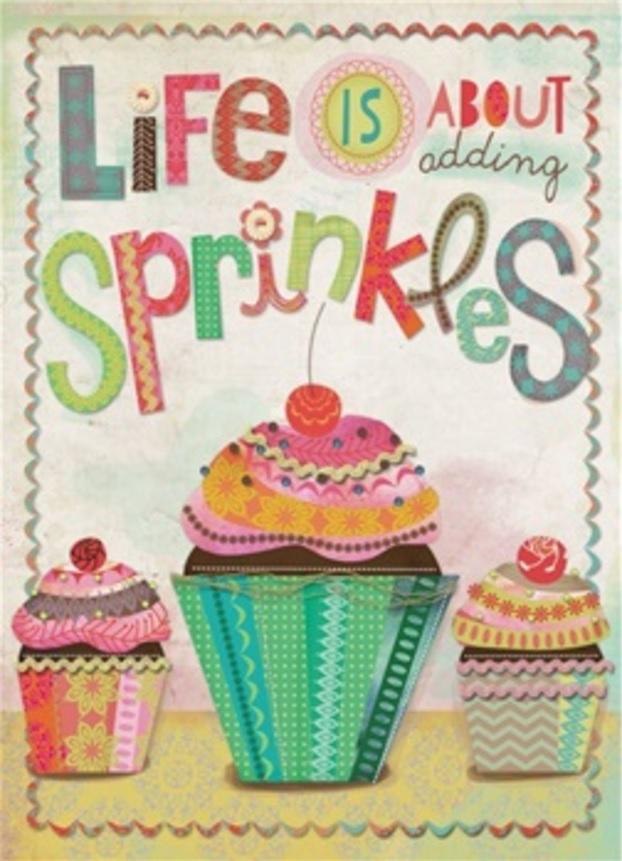 Birthday Card, Sprinkles-birthday, card, sprinkles