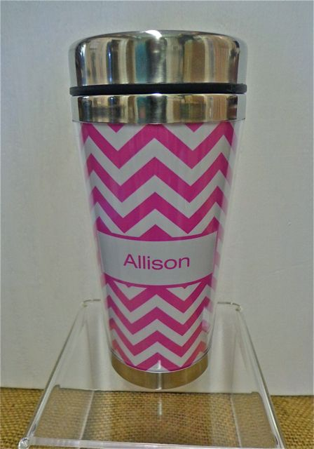 Personalized Travel Mug-travel mug, personalized gift, wedding party gifts,