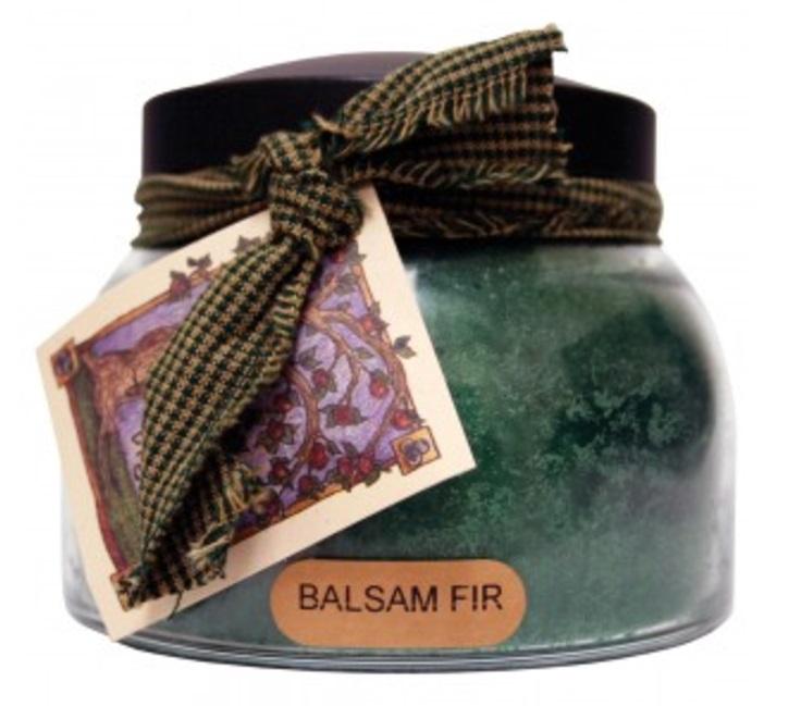 A Cheerful Giver Balsam Fir Mama Jar Candle-a cheerful giver, balsam fir, mama jar, candle
