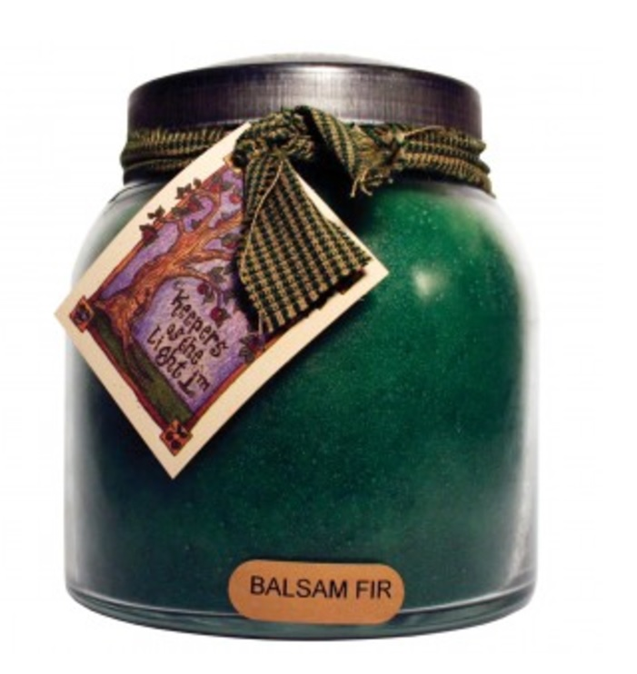 A Cheerful Giver Balsam Fir Papa Jar Candle-a cheerful giver, balsam fir, papa jar, candle