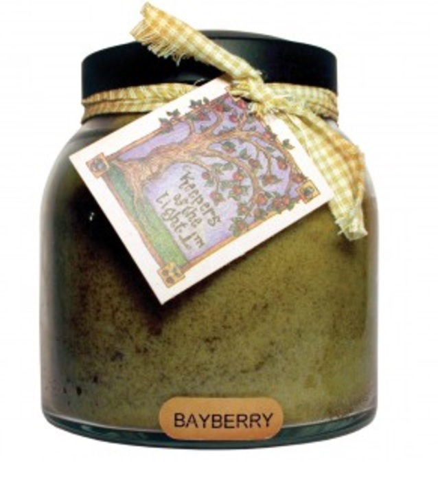 A Cheerful Giver Bayberry Papa Jar Candle-jar candles, bayberry candle, Christmas candle, A Cheerful Giver, Jacksonville candle