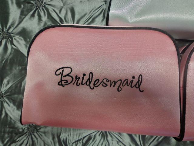 Bridesmaid Travel Bag-cosmetic bag, bridesmaid gift, bridesmaid, travel bag