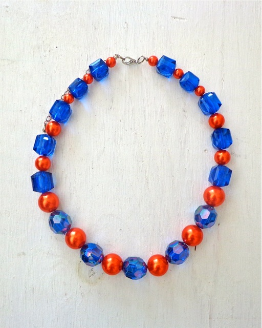 Gators Gameday Necklace-Necklace, Jewelry, College, Collegiate, Gators