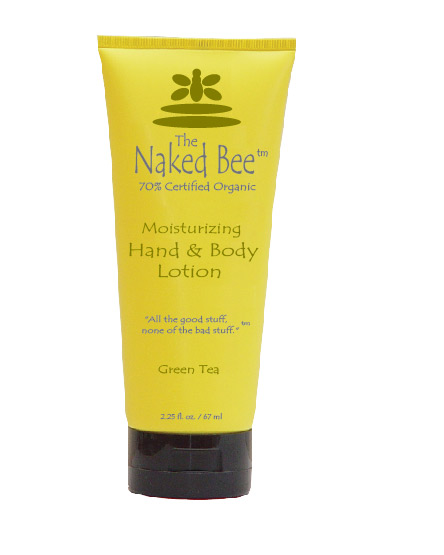 Green Tea Lotion from The Naked Bee-green tea, green tea lotion, organic lotion, The Naked Bee
