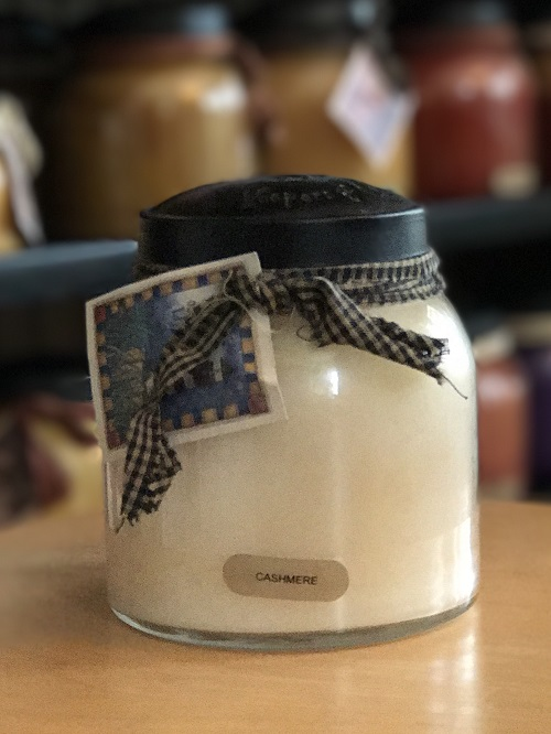 A Cheerful Giver Cashmere Papa Jar Candle-a cheerful giver, cashmere, papa jar, candle