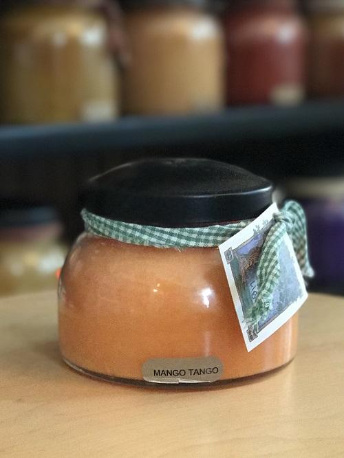 A Cheerful Giver Mango Tango Mama Jar Candle-a cheerful giver, mango tango, mama jar, candle
