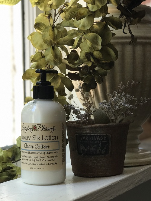 Hand & Body Lotion - Clean Cotton, 8.5 oz-hand and body lotion, clean cotton