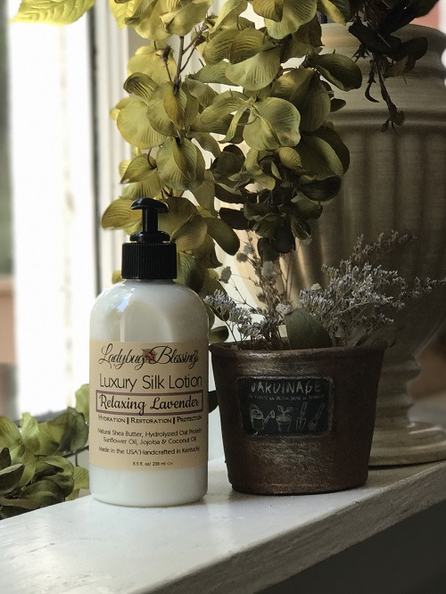 Hand & Body Lotion - Relaxing Lavender, 8.5 oz-hand and body lotion, relaxing lavender