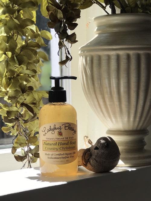 Handmade Liquid Soap - Country Christmas-handmade liquid soap, country christmas