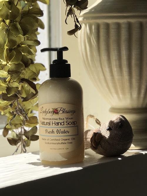 Handmade Liquid Soap - Fresh Water-handmade liquid soap, fresh water
