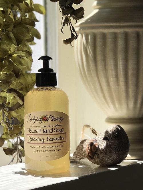 Handmade Liquid Soap - Relaxing Lavender-handmade liquid soap, relaxing lavender