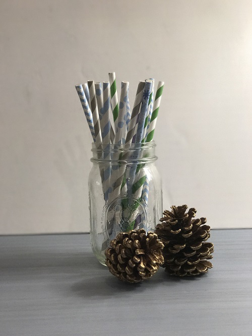 Frozen Mix Paper Straws-frozen, christmas, paper straws