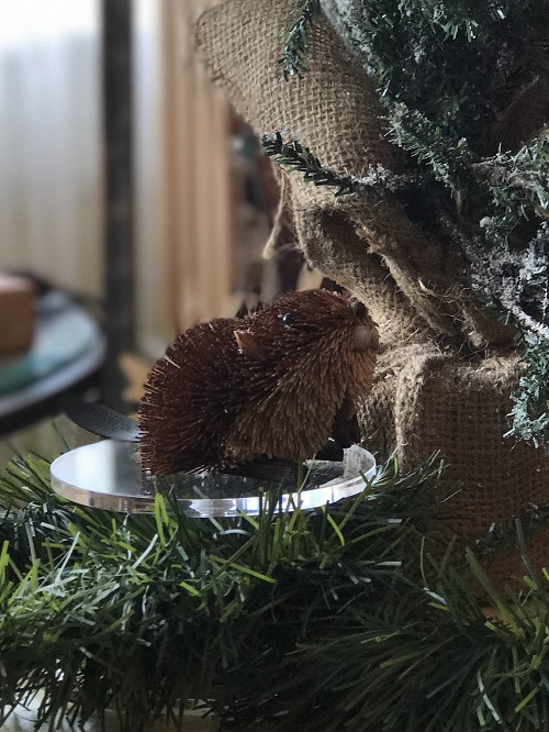 Beaver Brush Animal Ornament-beaver, brush animal