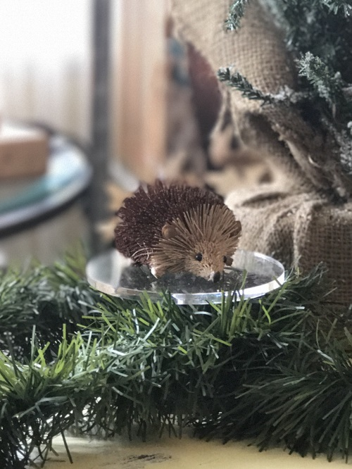Hedgehog Brush Animal Ornament-hedgehog, brush animal