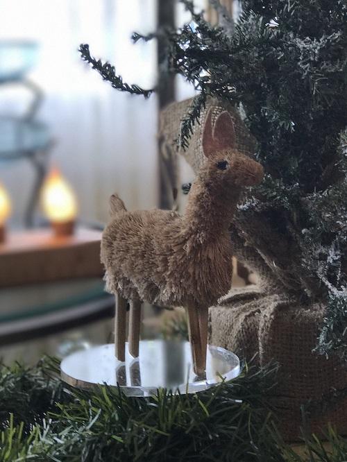 Llama Brush Animal Ornament-llama, brush animal