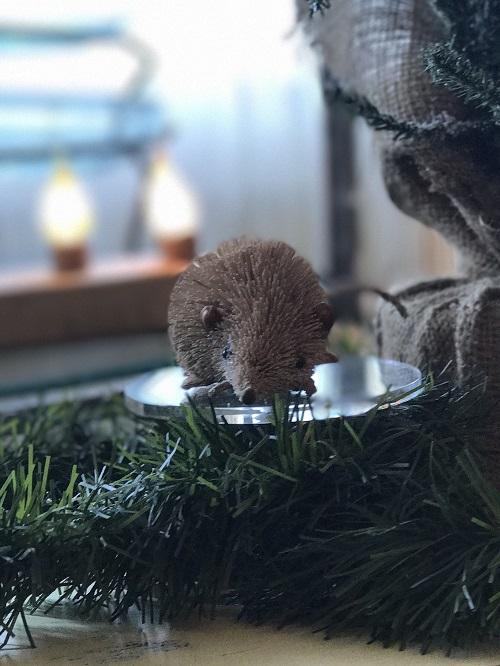Mouse Brush Animal Ornament-mouse, brush animal