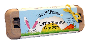Little Bunny Garden-seed starting kit, gardening kit, vegetable seeds, kids gardening