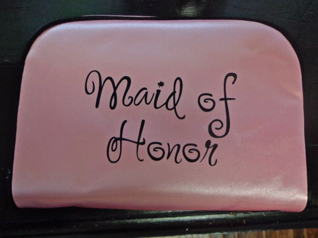 Maid of Honor Travel Bag-maid of honor, bridesmaid gift, wedding day, bridal party