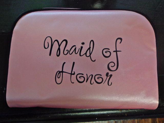 Maid of Honor Travel Bag-maid of honor, bridesmaid gift, wedding day, bridal party