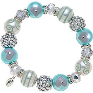 Blue Dazzle Bracelet-bracelet, christmas, shiny, winter