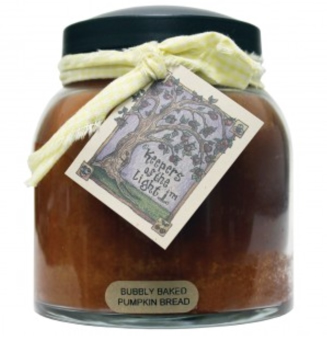 A Cheerful Giver Bubbly Baked Pumpkin Bread Papa Jar Candle-a cheerful giver, bubbly baked pumpkin bread, papa jar, candle