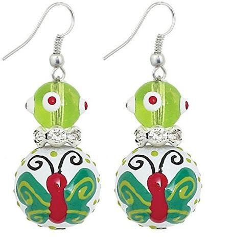 Butterfly Wishes Earrings-butterfly, earrings, jewelry, kate and macy