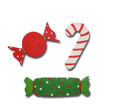 Christmas Candy Magnets, 3-Pack-Christmas, Magnets, Roeda, Photo, Display