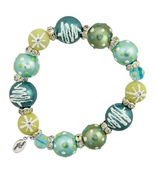 O Christmas Tree Bracelet-bracelet, handpainted, Kate & Macy,