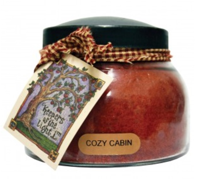 A Cheerful Giver Cozy Cabin Mama Jar Candle-jar candles, a cheerful giver, jacksonville candles