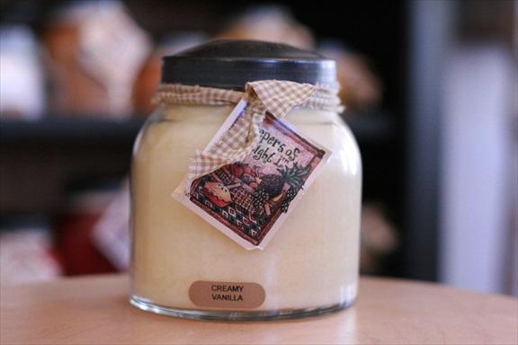 A Cheerful Giver Creamy Vanilla Papa Jar Candle-vanilla candle, jar candle, Jacksonville candle, a cheerful giver