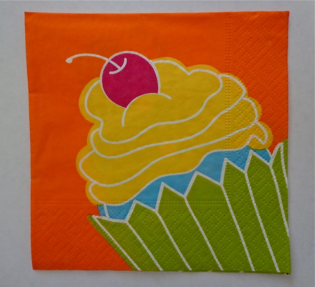 Beverage Napkins, Cupcake Crazy-party supplies, napkins, beverage napkins, cupcake