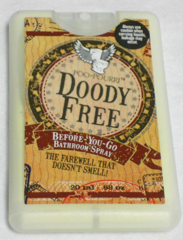 Poo-Pourri Doody Free, Pocket Size-Poo-Pourri, Doody Free