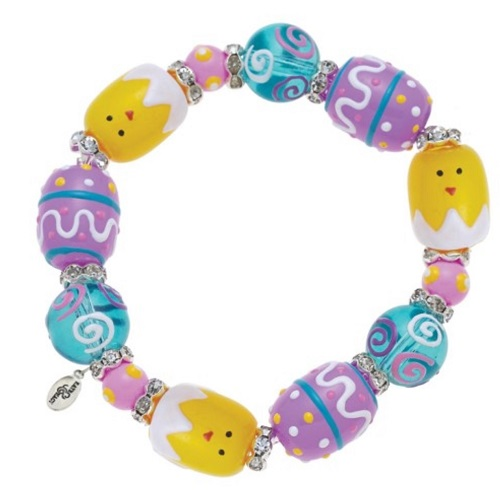 Easter Chick Bracelet-spring, chick, easter, egg, bracelet, kate and macy