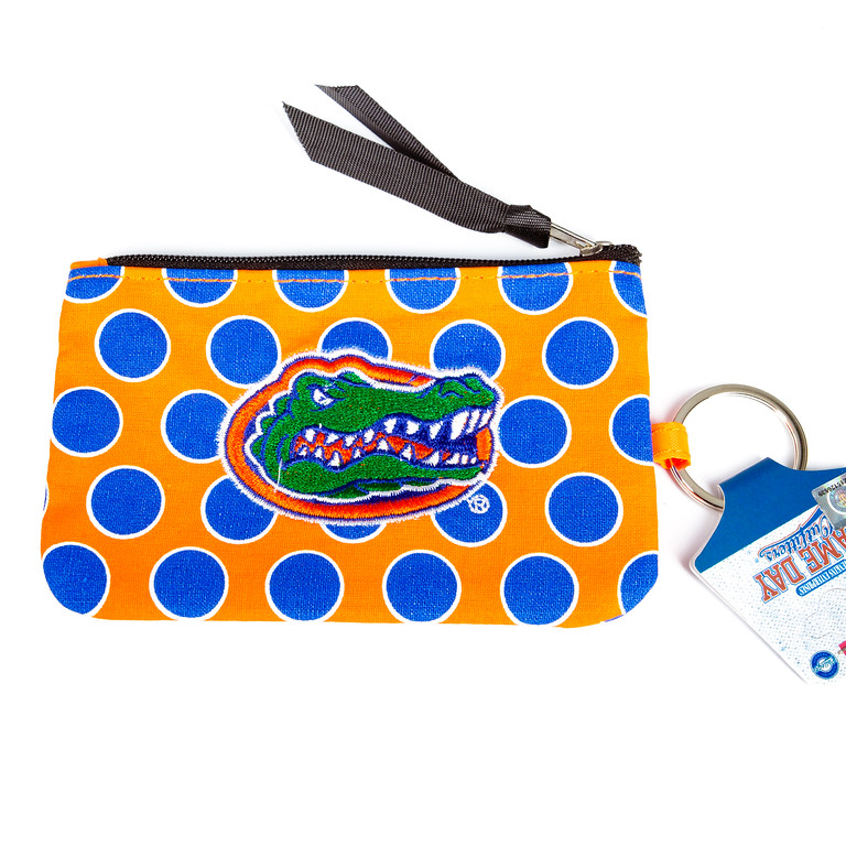 Clutch with Key Fob - Gators-florida gators, clutch, clutch bag, jacksonville florida