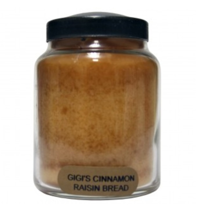 A Cheerful Giver Gigi's Cinnamon Raisin Bread Baby Jar Candle-a cheerful giver, gigi's cinnamon raisin bread, baby jar, candle