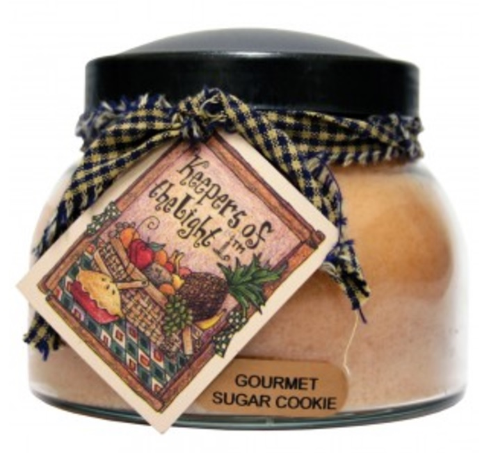 A Cheerful Giver Gourmet Sugar Cookie Mama Jar Candle-sugar cookie, gourmet, keepers of light, a cheerful giver, Jacksonville candles