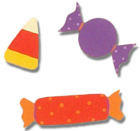 Halloween Candy Magnets, 3-Pack-magnet, rodea, halloween