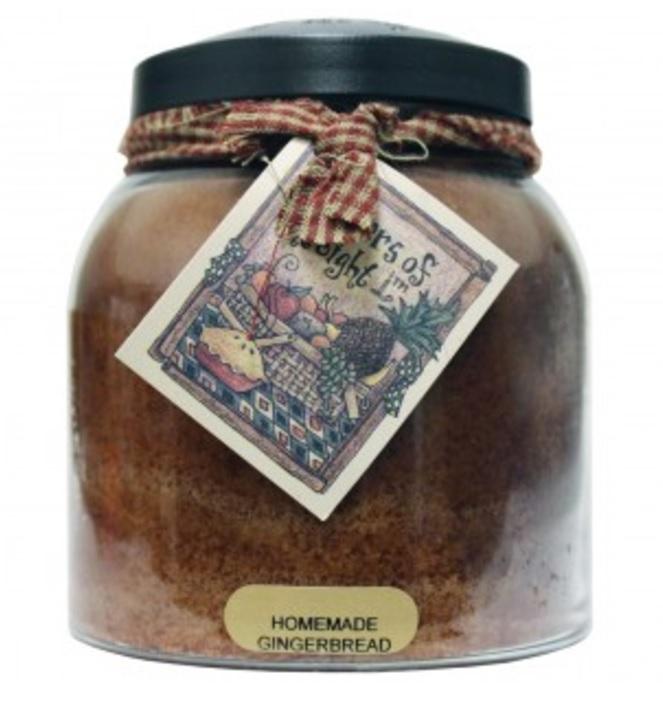 A Cheerful Giver Homemade Gingerbread Papa Jar Candle-a cheerful giver, homemade gingerbread, papa jar, candle