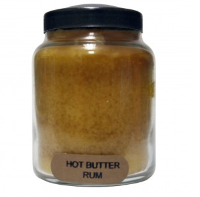 A Cheerful Giver Hot Buttered Rum Baby Jar Candle-rum candle, jar candle, Jacksonville candles