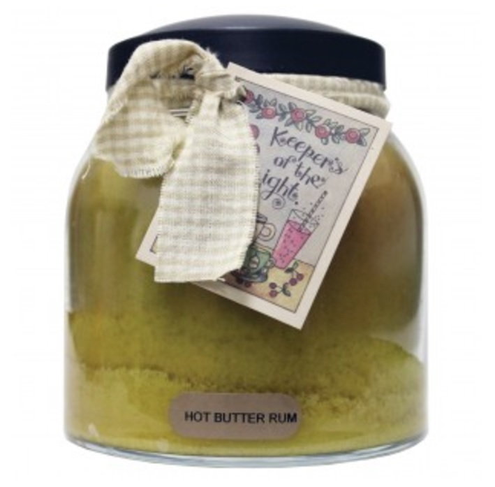 A Cheerful Giver Hot Buttered Rum Papa Jar Candle-rum candle, jar candles, a cheerful giver, Jacksonville candles