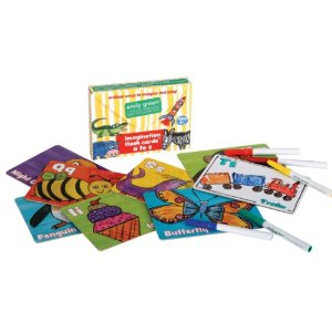 Imagination Flash Cards-flash card, emily green, children, toy