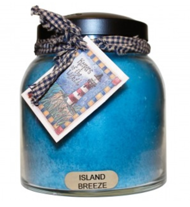 A Cheerful Giver Island Breeze Papa Jar Candle-a cheerful giver, island breeze, papa jar, candle