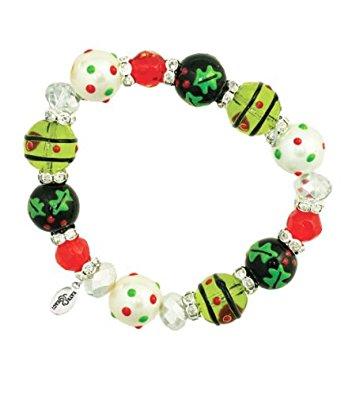 Jolly Holly Bracelet-earrings, jolly, holly, christmas, winter
