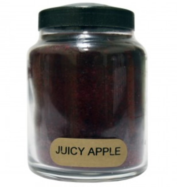 A Cheerful Giver Juicy Apple Baby Jar Candle-apple candle, a cheerful giver, Jacksonville candles, jar candles