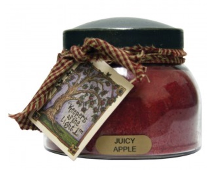 A Cheerful Giver Juicy Apple Mama Jar Candle-apple candle, a cheerful giver, Jacksonville candles