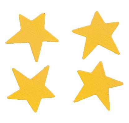 Mini Stars, 4-Pack, Yellow-